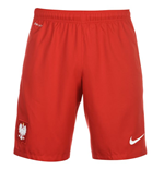 Shorts Polen Fussball 2016-2017 Home (Rot)
