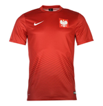 Trikot Polen Fussball 2016-2017 Away Nike Supporters