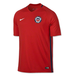 T-Shirt Chile Fussball 2016-2017 Home Nike fur Kinder