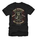 T-Shirt Gas Monkey Garage Blood Sweat Beers