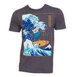 T-Shirt Adventure Time Surfing The Gret Wave Japanese