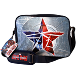 Captain America Civil War Umhängetasche Broken Star navy