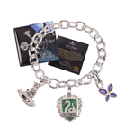 Harry Potter Bettelarmband Lumos Slytherin (versilbert)