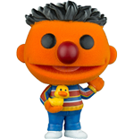 Sesamstrasse POP! TV Vinyl Figur Ernie (Flocked) 9 cm