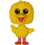 Sesamstrasse POP! TV Vinyl Figur Big Bird (Flocked) 15 cm