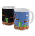 Super Mario Bros. Tasse mit Thermoeffekt Level