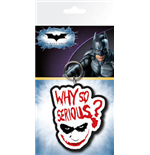 Schlüsselring Batman aus Gummi the Dark Knight - Joker Serious