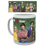 Tasse Big Bang Theory - Cast