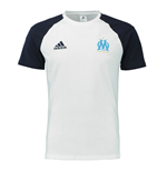 T-Shirt Olympique Marseille 2016-2017 (Weiss)