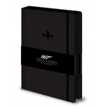 James Bond Premium Notizbuch A5 Spectre Octopus Logo