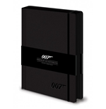 James Bond Premium Notizbuch A5 007 Logo