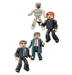 Akte X Minimates Actionfiguren 5 cm Serie 1 Box Set
