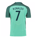Trikot Portugal Fussball 2016-2017 Away Nike (Ronaldo 7)
