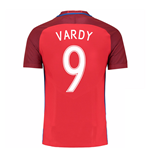 T-Shirt England Fussball 2016-2017 Away Nike (Vardy 9)
