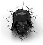 Star Wars 3D LED Leuchte Darth Vader