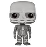 Attack on Titan POP! Animation Vinyl Figur Colossal Titan Black & White 15 cm