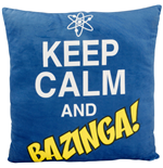 Kissen Big Bang Theory Keep Calm and Bazinga 40 x 40 cm.