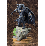 Marvel Comics Fine Art Statue 1/6 Black Panther 31 cm