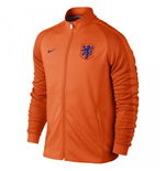 Jacke Holland Fussball 2016-2017 Nike Authentik N98 (Orange)