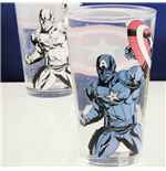 Glas Captain America Colour Change Glass