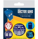 Brosche Doctor Who  218402