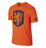 T-Shirt Holland Fussball 2016-2017 Nike Core Crest (Orange)