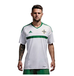 Trikot Northern Ireland Away Adidas  Fußball 2016-2017