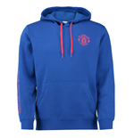 Sweatshirt Man Utd Adidas Core Baumwolle 2016-2017 (Royal blau)