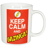 The Big Bang Theory Tasse Keep Calm and Bazinga