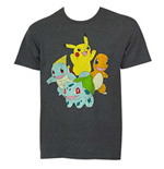 T-Shirt Pokémon Pikachu and Friends