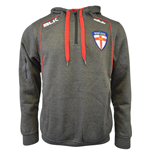 Sweatshirt England Rugby 2015-2016 League BLK Quarter Zip Hoodie (Grau)
