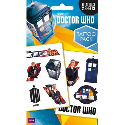 Tattoos Doctor Who  220428