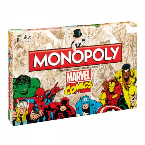 Brettspiel Marvel Comics Edition