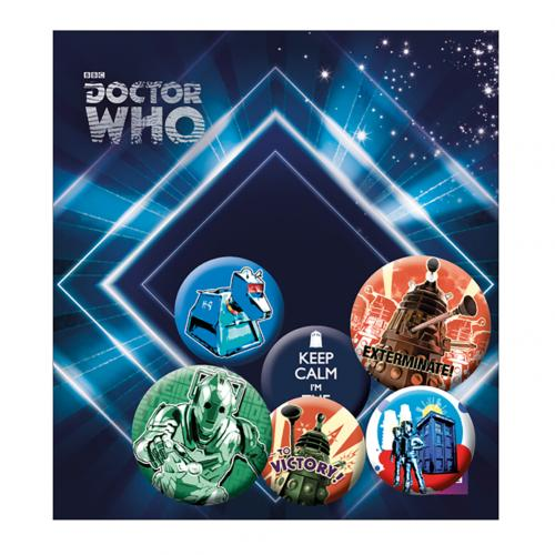 Brosche Doctor Who  220769