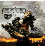 Vinyl Front Line Assembly - Artificial Soldier (Cherry Coloured Vinyl)