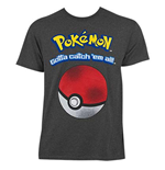T-Shirt Pokémon Catch em All