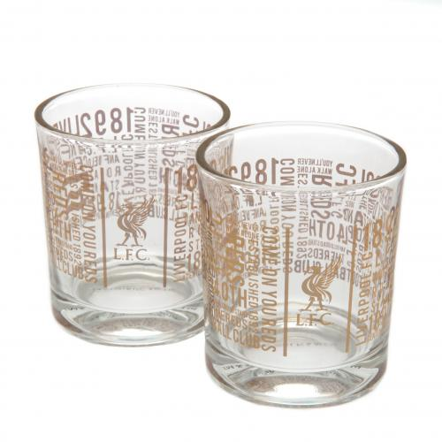 Set Whisky Glasser Liverpool FC