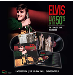 Vinyl Elvis Presley - Live In The 50's - The Complete Tour Recordings (2 Lp +24 Page Gatefold)