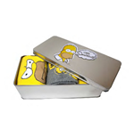 Simpsons Socken 3er-Pack in Blechdose