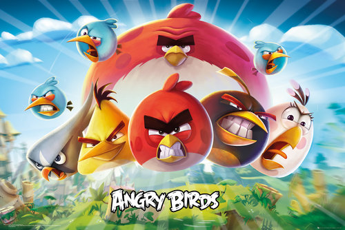 Poster Angry Birds 223503