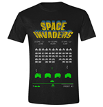 T-Shirt Space Invaders  224037