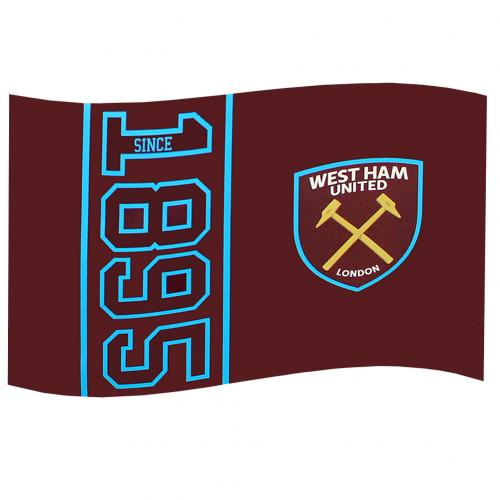 Flagge West Ham United F.C. SN