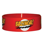 Armband Big Bang Theory aus Silikon - Bazinga Red
