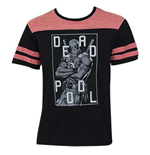 T-Shirt Deadpool Baseball