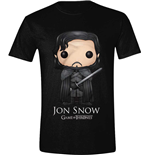 T-Shirt Game of Thrones  - Pop Art Jon Snow