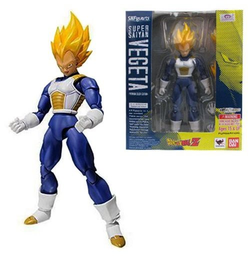 Actionfigur Dragon Ball Super Saiyan Vegeta Premium