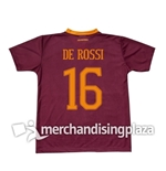 Trikot AS Roma 2016/17 Home Jersey De Rossi 16 Replik