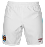 Shorts West Ham United 2016-2017 Home (Weiss)