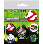Ghostbusters Ansteck-Buttons 5er-Pack Who You Gonna Call