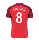 Trikot England Fussball 2016-2017 Away (Lampard 8)